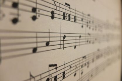 Partition, écriture musicale