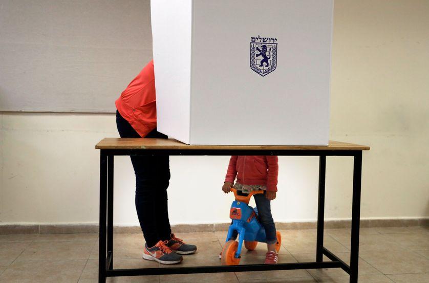 Le vote des palestiniens aux élections municipales en israël