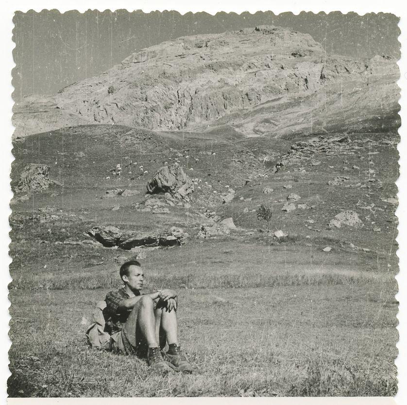 Georges Navel en montagne