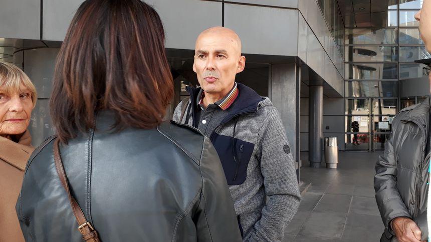 Jean-Noel Buty, le père de Thelma était trop ému pour évoquer le souvenir de sa fille devant le tribunal