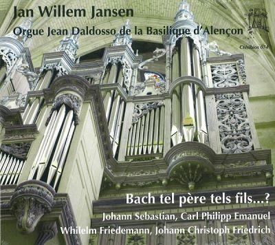 """""""Bach tel père tels fils ?..."""", Label Ctésibios (2018)"""