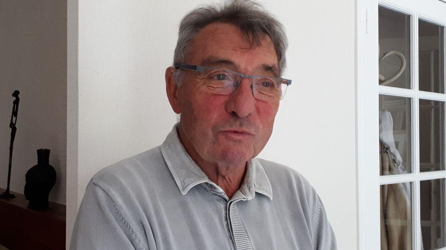 Michel Vigier le président du collectif des victimes de l'accident de car de Puisseguin