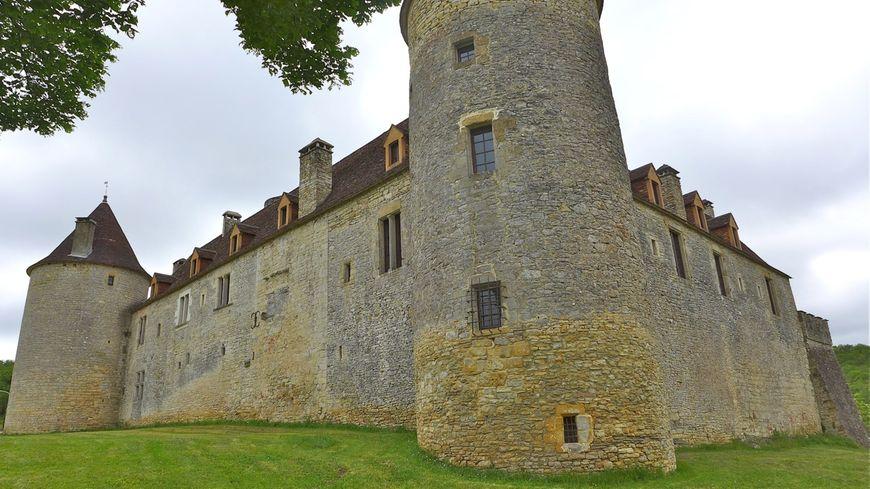 Le château de Pech Rigal à Sainte Clair