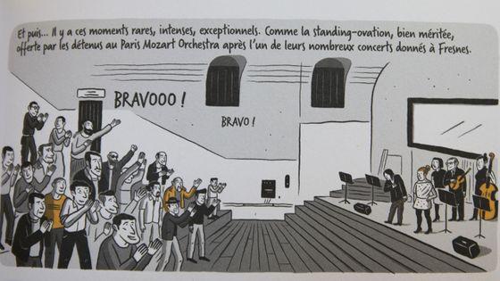 Extrait de la bande-dessinée Symphonie carcérale de Romain Dutter et Julien Bouqé