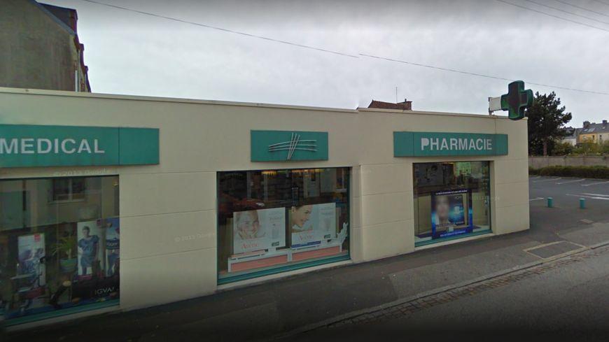 La pharmacie a été braquée vendredi 26 octobre en plein après-midi.