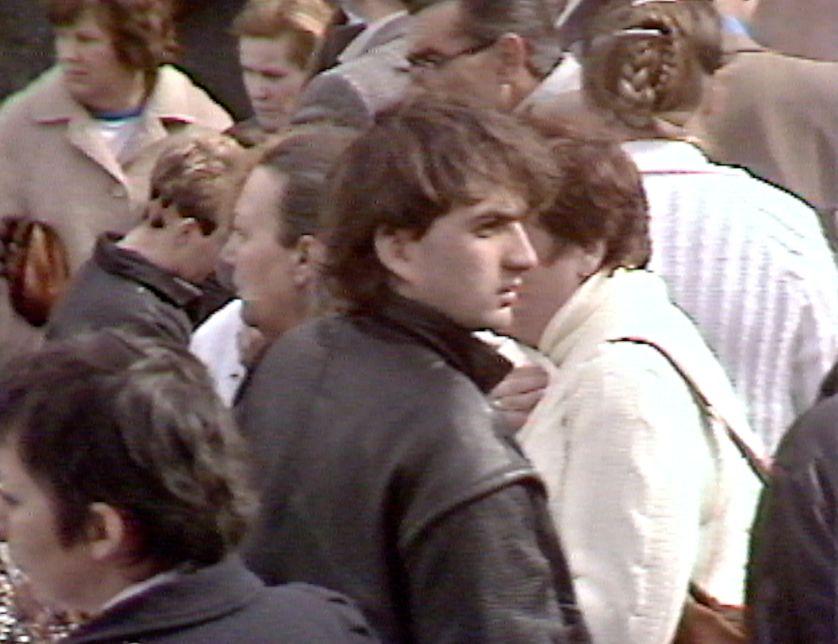 Denis Robert à Autmonzay en 1984