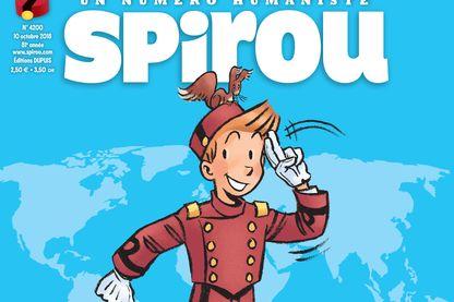 Spirou a été choisi par le Haut-Commissariat des Nations Unies comme défenseur des droits de l'Homme