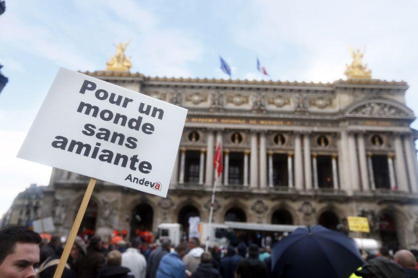 """L'Andeva organise une manifestation ce vendredi après-midi à Paris  avec pour mot d'ordre """"pas d'amiante dans nos écoles"""""""