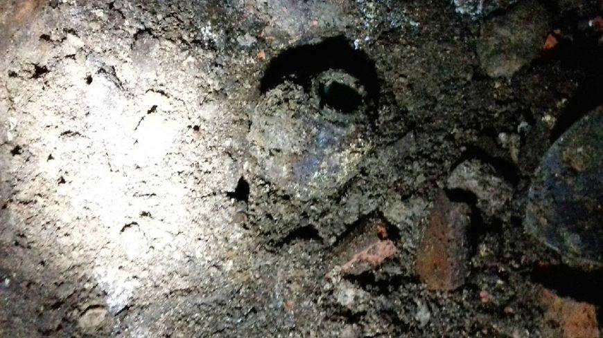 Une première grenade dégoupillée a été découverte par Valérie, quatre autres ont été identifiées