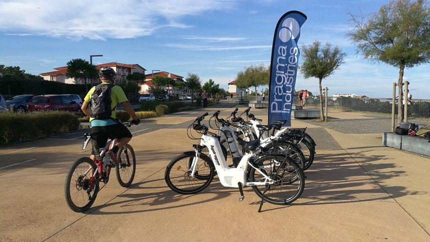 le vélo à hydrogène fabriqué au Pays Basque par Pragma Industrie