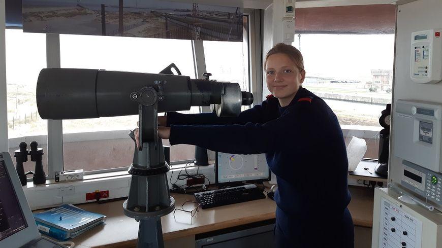 Lana, 19 ans, est en classe préparatoire au lycée naval de Dunkerque