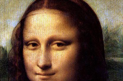 La Joconde, ou Portrait de Mona Lisa, un tableau de l'artiste Léonard de Vinci. Huile sur toile. vers 1503-1506.
