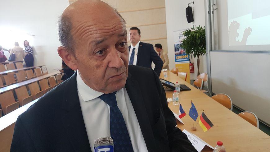 Le ministre des Affaires étrangères, Jean-Yves Le Drian, en visite à Poitiers ce mardi après-midi, a livré quelques détails sur la libération d'Alain Goma, détenu depuis quatre mois et demi au Yémen.
