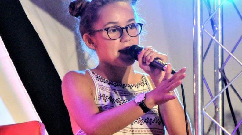 Ilona, montilienne de 14 ans, prend des cours de chant depuis quatre ans à l'association Montélo Chante.