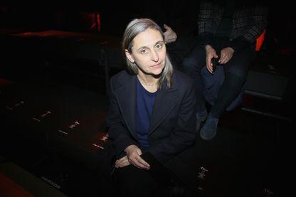 La chorégraphe Anne Teresa de Keersmaeker à Paris le 21 janvier 2017