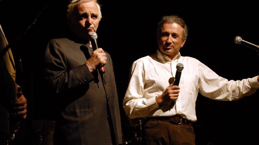 Michel Drucker et Charles Aznavour étaient amis.