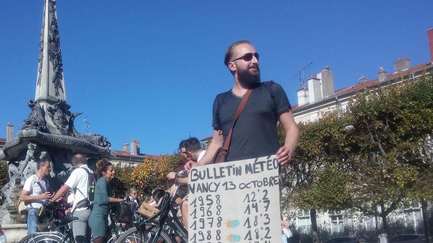 Plus de 500 personnes réunies pour le climat à Nancy.