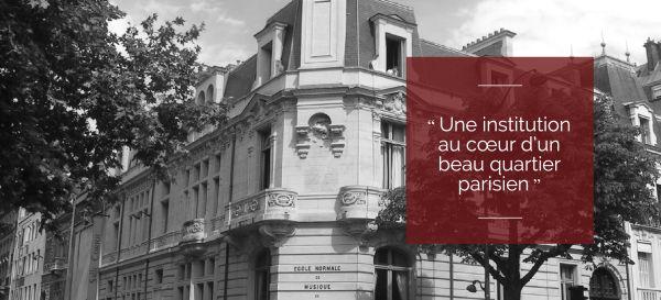 École normale de musique Alfred-Cortot, 114 bis bd  Malesherbes, Paris 17e