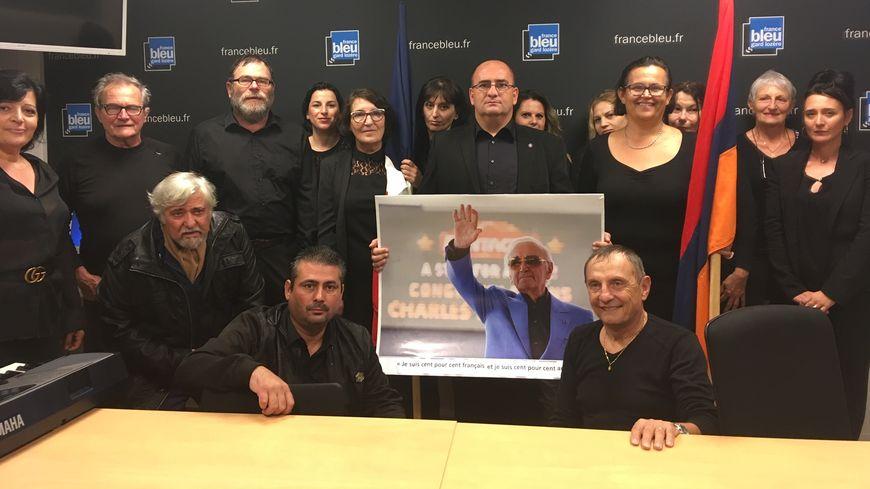 Un hommage franco arménien à Charles Aznavour
