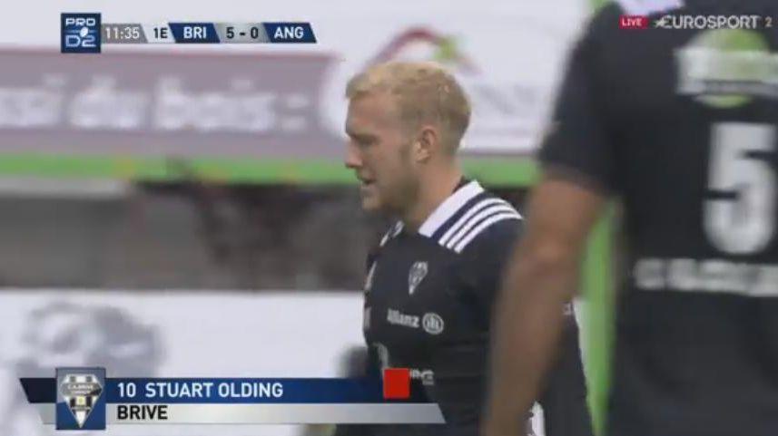 Stuart Olding est suspendu trois matchs après son plaquage cathédrale