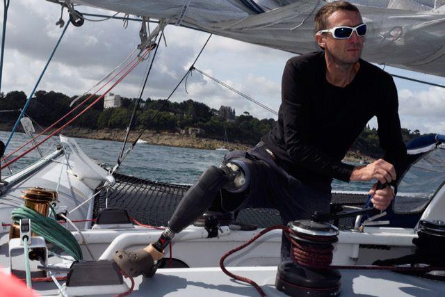 Fabrice Payen est au départ de l'une des courses les plus difficiles grâce à une prothèse révolutionnaire