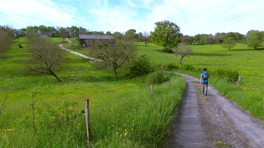 Sur le GR® 654 en Dordogne