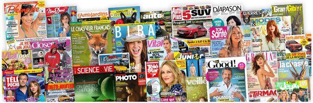 Les titres de presse détenus par Mondadori