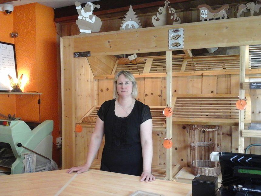 Carole Viaux, boulangerie Les Marronniers, heureuse de sa vie vercelloise !