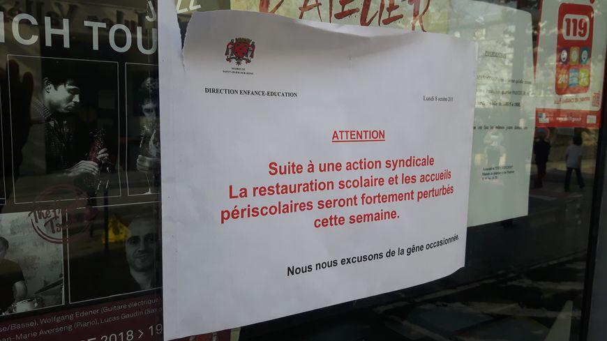 La grève dure depuis une semaine à Saint-Ouen et se poursuit