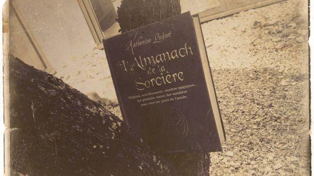 L'almanach de la sorcière de Katherine Quenot