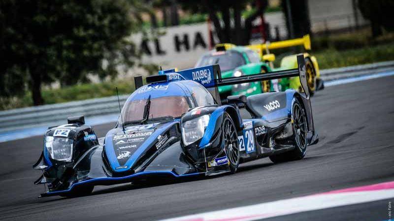 Les pilotes normands Pierre Ragues et Nicolas Jamin ont terminé sur la Duquerine Engineering n°29 leur première saison commune en ELMS
