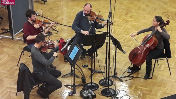 Le Quatuor Tana est l'invité de Tapage nocturne