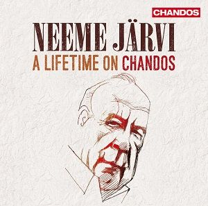 Neeme Jarvi : A Lifetime on Chandos, Coffret 25 CD, CHANDOS