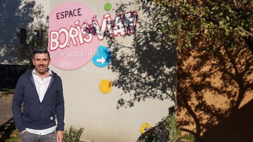 Philippe Chastel, directeur de l'Espace Boris Vian à Saint-Etienne