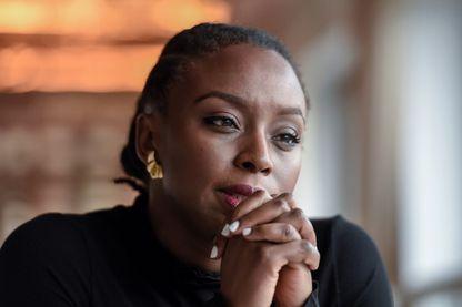 Chimamanda Ngozi Adichie, écrivaine, le 24 janvier 2018 à Paris.