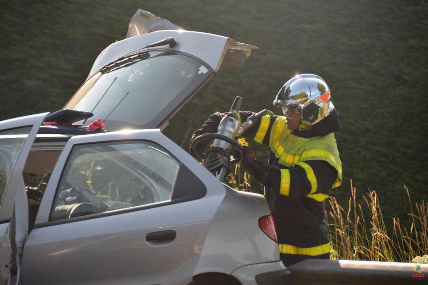 Les pompiers vont faire la démonstration d'un crash test avec désincarcération  - Aucun(e)