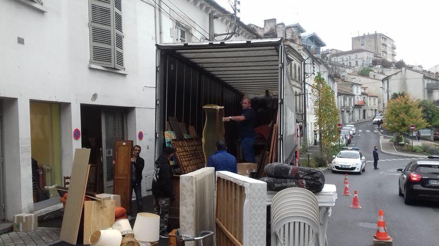 Près de 200 mètres cubes d'objets en tous genres collectés en sept jours