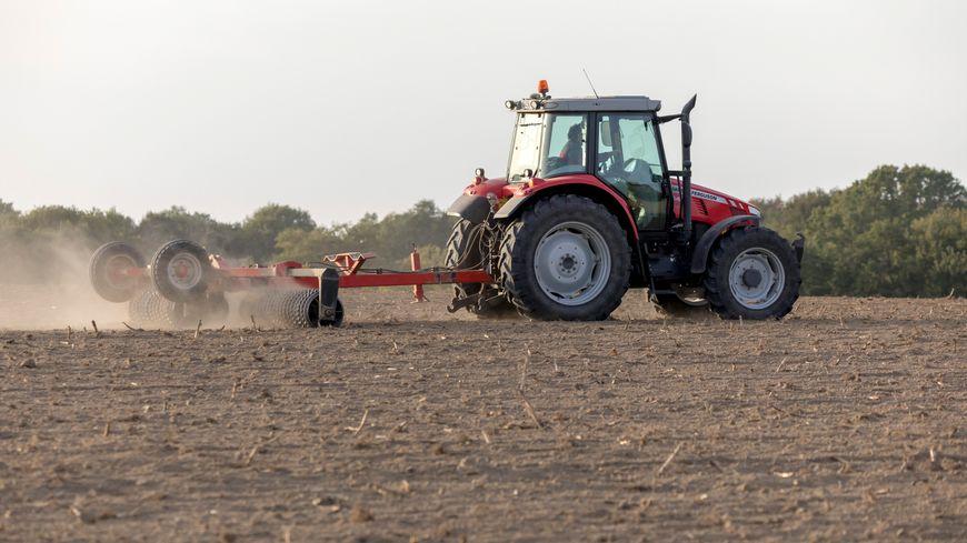 """""""De la terre dure comme de la pierre"""" selon Jean-Christophé Huré, agriculteur dans le Gâtinais"""