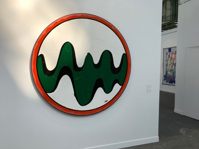 """Walt Disney Productions"" de Bertrand Lavier"