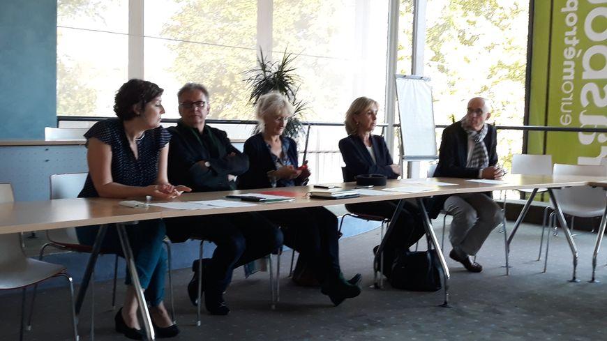 Les élus Europe écologie Les Verts de l'Eurométropole de Strasbourg.