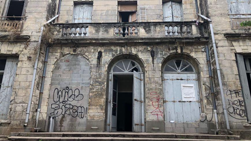 """Le squat du """"Château"""" situé boulevard Vieussens à Montpellier"""