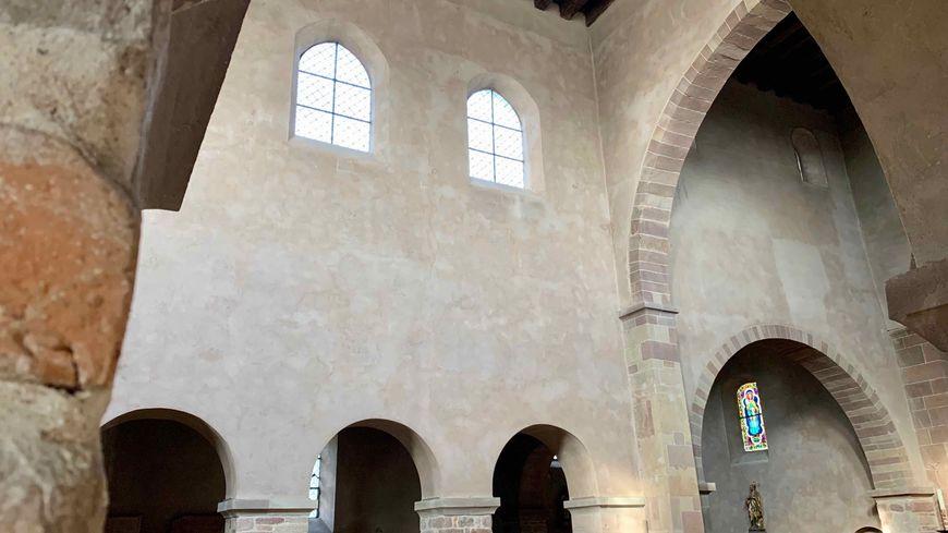 Eschau, les voûtes de l'abbatiale St. Trophime