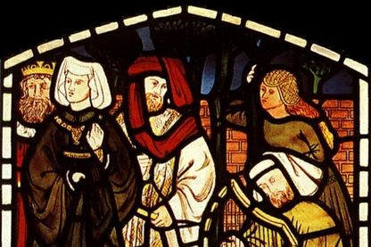 Tristan & Iseult à la cour du roi Arthur © William Morris (domaine public)