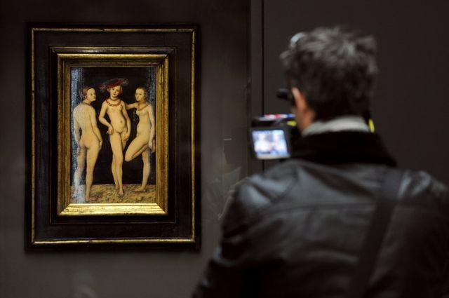 """Les Trois Grâces, première oeuvre achetée grâce à """"Tous Mécènes"""""""