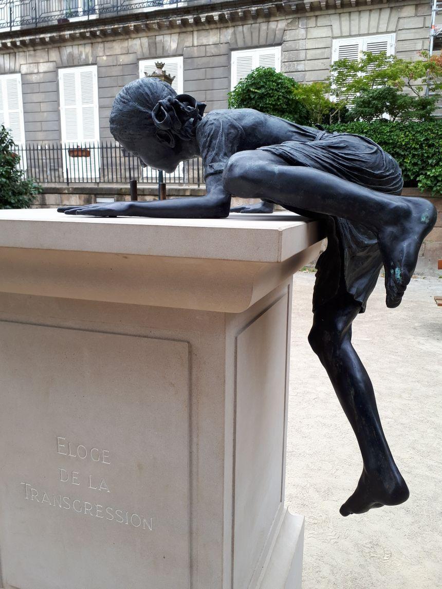 """""""L'éloge de la transgression"""", cours Cambronne à Nantes"""