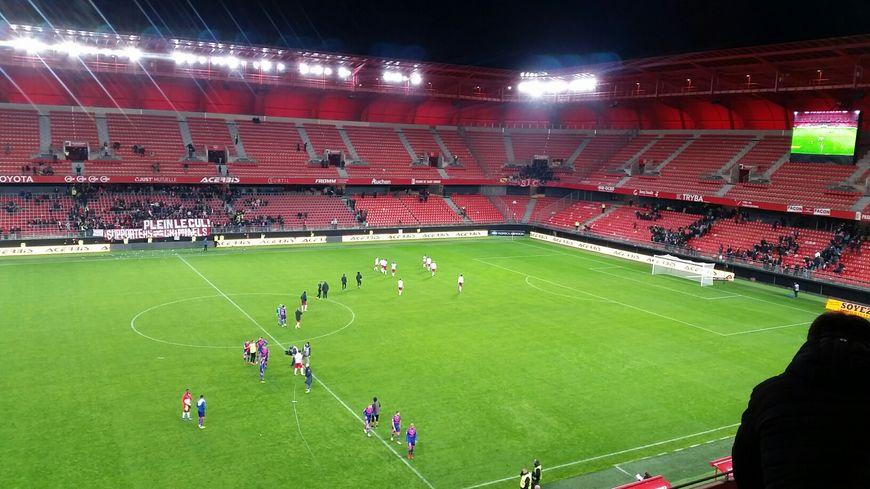 Nancy a concédé le nul à Valenciennes 1-1