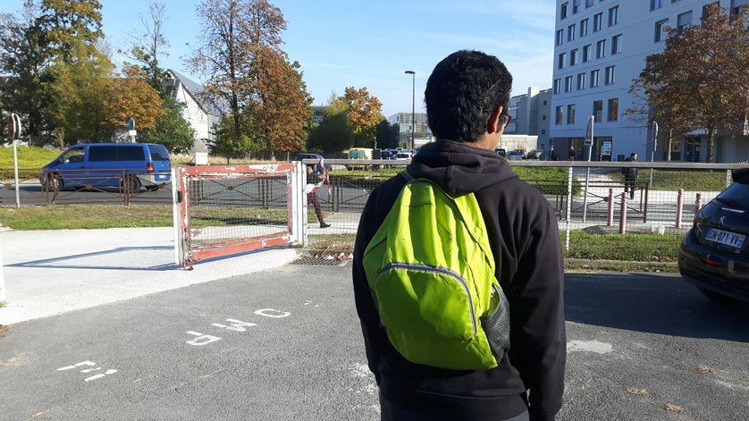 Bechal, étudiant indien, suit un Master informatique et mathématiques, tout en anglais, à l'Université Paris Est Marne la Vallée.