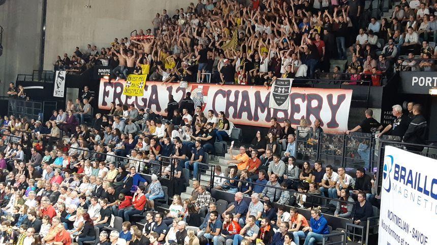 Le Phare était plein pour match Chambéry-Saint Raphaël
