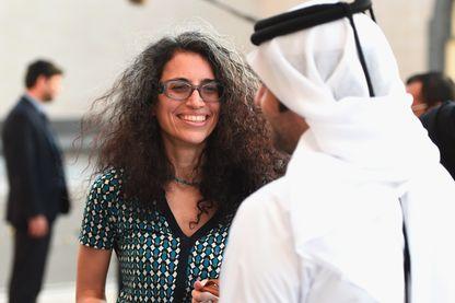 Dima Khatib, directrice du média AJ+ : service d'actualité exclusivement sur les réseaux sociaux lancé par Al Jazeera