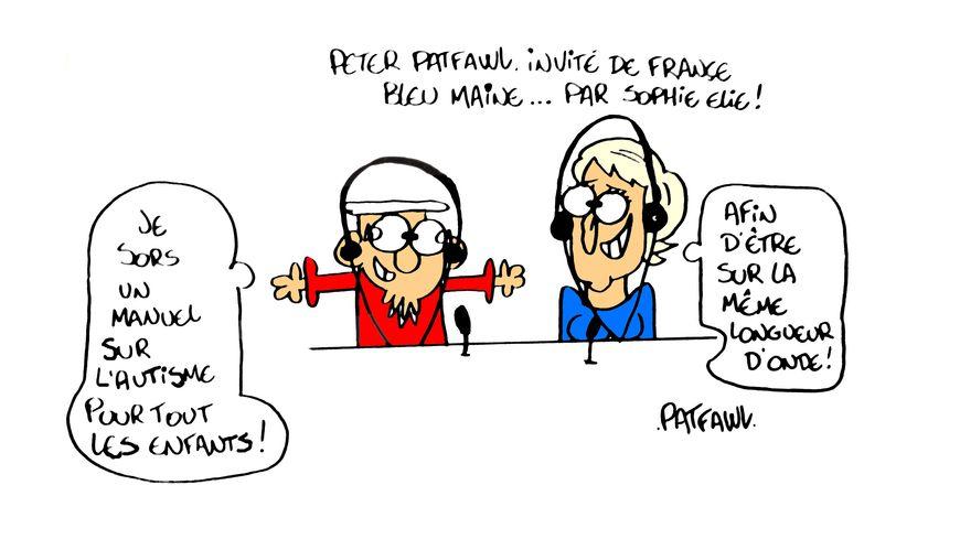 Peter Patfawl, invité de France Bleu Midi ensemble